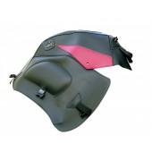 BAGSTER VARADERO XL1000V (1999-2012) ΜΑΥΡΟ /  ΚΟΚΚΙΝΟ Κάλυμμα προστασίας ντεπόζιτου