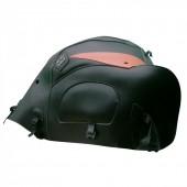 BAGSTER VARADERO XL1000V (1999-2012) ΜΑΥΡΟ /  ΠΟΡΤΟΚΑΛΙ Κάλυμμα προστασίας ντεπόζιτου