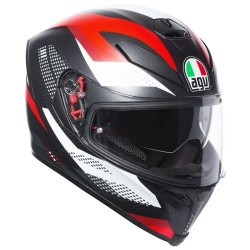 AGV K5s MARBLE BLACK/RED/WHITE Κράνη