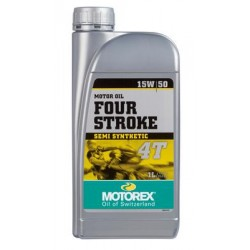 ΛΑΔΙ ΚΙΝΗΤΗΡΑ MOTOREX FOUR STROKE 15W/50 Υλικά περιποίησης-Λιπαντικά