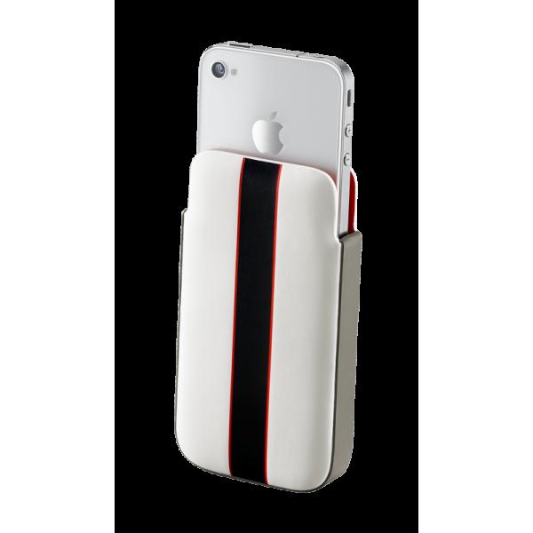 MOMO RACING IPHONE 4/4S SLEEVE COVER WHITE MOMO DESIGN