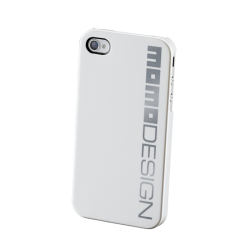 MOMO DESIGΝ IPHONE 4/4S COVER BACK WHITE MOMO DESIGN