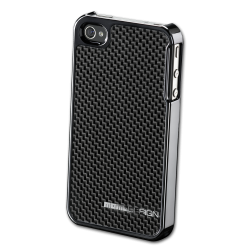 MOMO DESIGΝ IPHONE 4/4S CARBON COVER DARK GREY MOMO DESIGN
