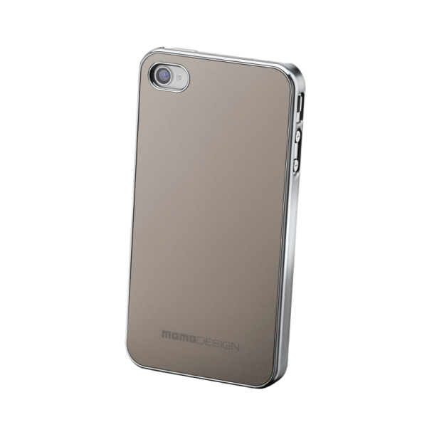 MOMO DESIGΝ IPHONE 4/4S TITANIUM COVER BACK MOMO DESIGN