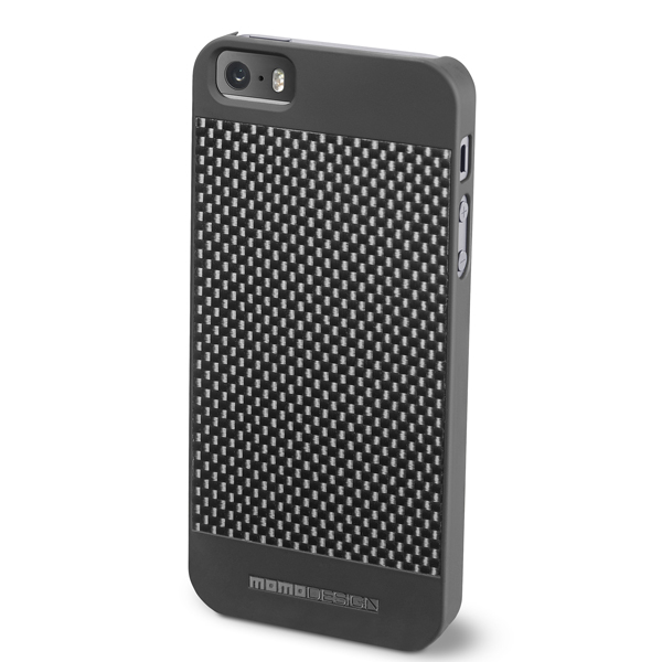 MOMO DESIGΝ IPHONE 5 / 5S CARBON COVER DARK GREY MOMO DESIGN
