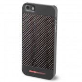 MOMO DESIGΝ IPHONE 5 / 5S CARBON COVER DARK RED MOMO DESIGN