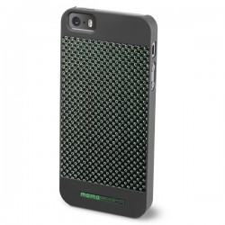 MOMO DESIGΝ IPHONE 5 / 5S CARBON COVER DARK GREEN MOMO DESIGN